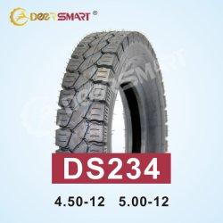 Il motore a tre ruote del triciclo di formato del pneumatico 12 di alta qualità 500 stanca 500-12 il tipo gomma della gomma e del tubo del reticolo Ds234 del pneumatico 500/12 del motociclo