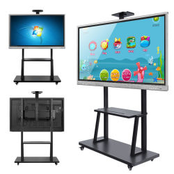 USB, VGA, HDMI Large Format LCD Panel Touch Screen Monitor voor School of Office