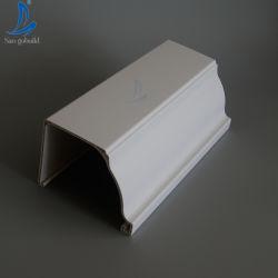Hergestellt in China Halbrunde K-Style Kunststoff-Harz Regenrinne Und Downauslauf für Dach Entwässerungssystem Hersteller Thailand