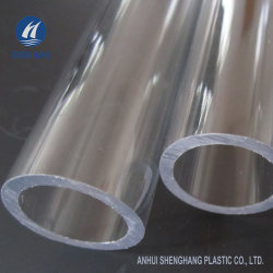 2020 Ronda clara tubo acrílico de tubos de plástico transparente