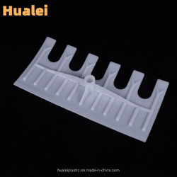 Pás de plástico branco Hualei Dual-Use Raspador Raspador, ferramentas de exploração, ferramentas de jardim de grãos de secagem