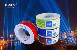 Kmb cobre o fio elétrico&Cabo 1*4 para cablagem de casa com marcação CE/certificado CCC