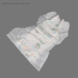 Coton OEM jetables en papier doux Pantalon respirant Sleepy couches pour bébé