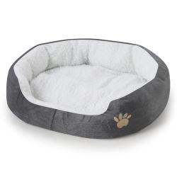 애완견 침대 데우기 핫도그 침대 하우스 소프트 도그 라운저 네스트 독 바구니 가을의 겨울 포근한 고양이 케넬 강아지 용품