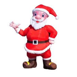 Juguetes inflables mayorista Charaters de dibujos animados de Navidad