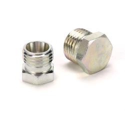 Métrica de adaptador de manguera hidráulica de la serie de la luz de macho