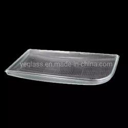 Autopartes de borosilicato Faro de luz de la cubierta de lente de vidrio para la iluminación de coche