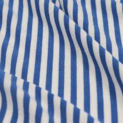 Tessuto modale 50, maglia elastica, Stripe, 150GSM