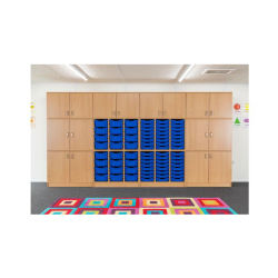 Play mobiliario escolar los niños de madera / Armario rack de Libro Infantil / LIBRERIA