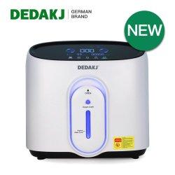 CE 인증 Dedakj 2021 새로운 1L 8L 이동식 산소 농축기 네뷸라이저 사용