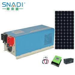 Snadi 1kw 1,5 kw 2kw 3kw 4kw 5kw 6kw Onda senoidal pura inversor solar fuera de la red