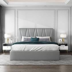 Hyc-Bl16新しいデザイン寝室のための現代北欧様式の純木のベッド