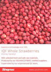 Toda IQF Morangos congelados de Morangos com Açúcar,4+1 Morangos congelados,Morangos fatiados,Puré de morango, grau a, Grau A+B, Grau B,variedade de mel