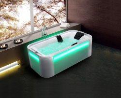 مصابيح LED تزيينية أحدث حمام تدليك جاكوزى مع تكييف الدالة Bubble
