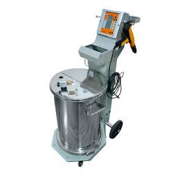Nouvelle machine de pulvérisation de peinture en poudre électrostatique pour une parfaite finition métal