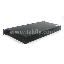 40Le canal 100GHz DWDM Mux Dual Fibre DWDM Demux, Fmu montage en rack 1U