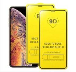 強化ガラスカーブ /9d フルカバーフルグルースクリーンプロテクタ、アップル用 iPhone/Samsung / Huawei/Oppo/Vivo / Xiaomi / Redmi / Tecno / Infinix