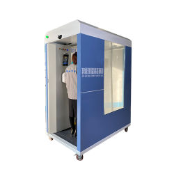 Интеллектуальное обнаружение автоматического регулирования температуры тела дезинфекции безопасности каналов канал