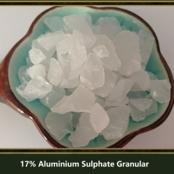 17% كبريتات الألومنيوم/الألومنيوم