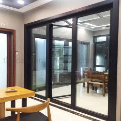열 틈 알루미늄 미닫이 문 알루미늄 Windows 및 문