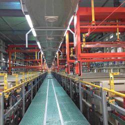 Revestimento de zinco Equipamento Equipamento de galvanoplastia Zincagem a máquina