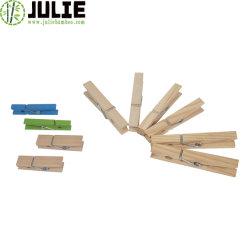 ملابس خشبية طبيعية عالية الجودة صديقة للبيئة تتشابك مع دبابيس ملابس الخيزران