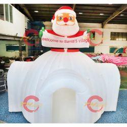 Большой открытый рождественские украшения/Индивидуальные надувные Рождество Дом Декор дома