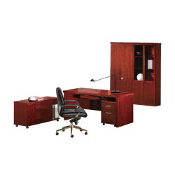 Modernos em madeira MDF Conferência Executivo Mesa de recepção de turismo mobiliário de escritório Owdk1201-14