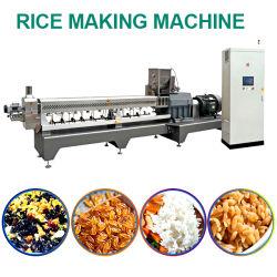 Máquina extrusora arroz fortificado con gran capacidad Fabricante de máquina de hacer arroz fortificado con Artificial Factory