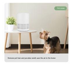 A melhor qualidade de trabalho, sala de estar, Quarto utilizados pequenos aparelhos domésticos Desktop Purificador de Ar