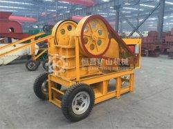 Primaria trituradora de mandíbula Track-Mounted construido para adaptarse a prácticamente cualquier operación de trituración de roca de procesamiento