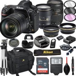Nuevo/usados ventas dinámico original 100% Nik-Ons D850 Fx cámara DSLR con 24-120mm F/4G AF-S ED VR la lente de 64GB + Kit de Video PRO