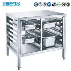 Hôtel Heavybao Cuisine en acier inoxydable de l'équipement de base pour les modèles GN STATIF
