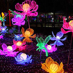 Gran parte de la artesanía tradicional Festival Chino linternas