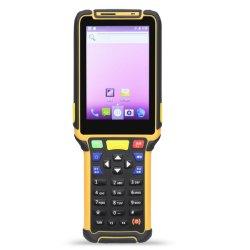 人間の特徴をもつOS産業PDA RFIDのP8マイクロM3 LCD及び接触JepowerキーボードInfaredのバーコードのスキャンナーPDA