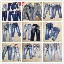 Mélanger la couleur d'enfants Fashion Jeans Pantalons19-31 Stock (H)