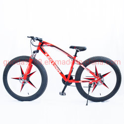 26 Polegadas Estrutura de aço 21 Multi-Speed Velocidade Cruiser Biycle Mountain Bike preço de fábrica chinesa