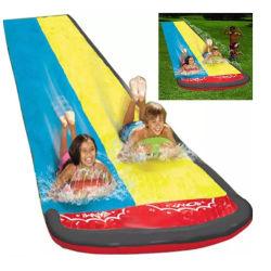 子供のための教育膨脹可能なPVC水スライドのおもちゃ記憶袋の大きい野外活動と多色刷り子供の男の子の女の子のための上りの学習のおもちゃ2年の
