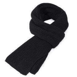 고품질 남자 형식 순수한 색깔에 의하여 뜨개질을 하는 스카프