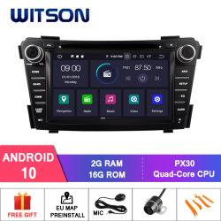 Hyundai I40 2011-2013 DVD 차 선수를 위한 Witson 인조 인간 10 접촉 모니터 차 오디오 시스템 다중 매체
