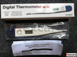 Klinischer Digital Thermometer LED-mit CER Approval-C0130