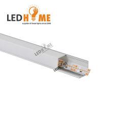 v 코너 LED 단면도 알루미늄 가벼운 내각 LED