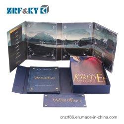 Impressão a Cores Personalizadas Papelão Mangas de papel CD/DVD/Caso/Tampa da caixa de embalagem