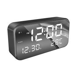 형식 본사를 위한 다기능 테이블 자명종 LED 디지털 달력 책상 시계