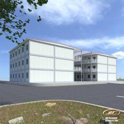 오피스 프리마버 키친 20ft 살아있는 집 현대적인 컨테이너 집 반장어 호텔 플로팅 홈