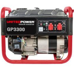 2KW y 3KW y 4KW, de 5 kw, 6kw, 7kw de potencia trifásica y portátil generador de gasolina con Unitedpower
