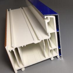 Profili in PVC rivestito in alluminio per finestra a doppio vetro, Ventanas De PVC, Perfiles De PVC