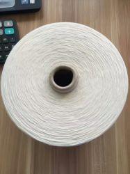 Couleur blanche mercerisés Fils de coton peigné, pour le tricotage utiliser 60S/2, 100s/2