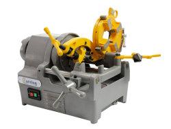Hongli Großhandel Sq40 40 U/min Rohr Gewindeschneidmaschine mit 1/4-Zoll Bis 1 1/2-Zoll-Druckköpfe mit manueller oder automatischer Druckkopffunktion