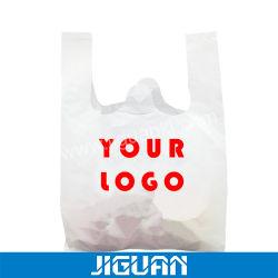 Der Kundenbezogenheits-förderndes Geschenk-Handtaschen-PVA für das Verpacken annehmen Plastikshirt-faltbare kompostierbare wasserlösliche 100% biodegradierbare Einkaufen-Beutel